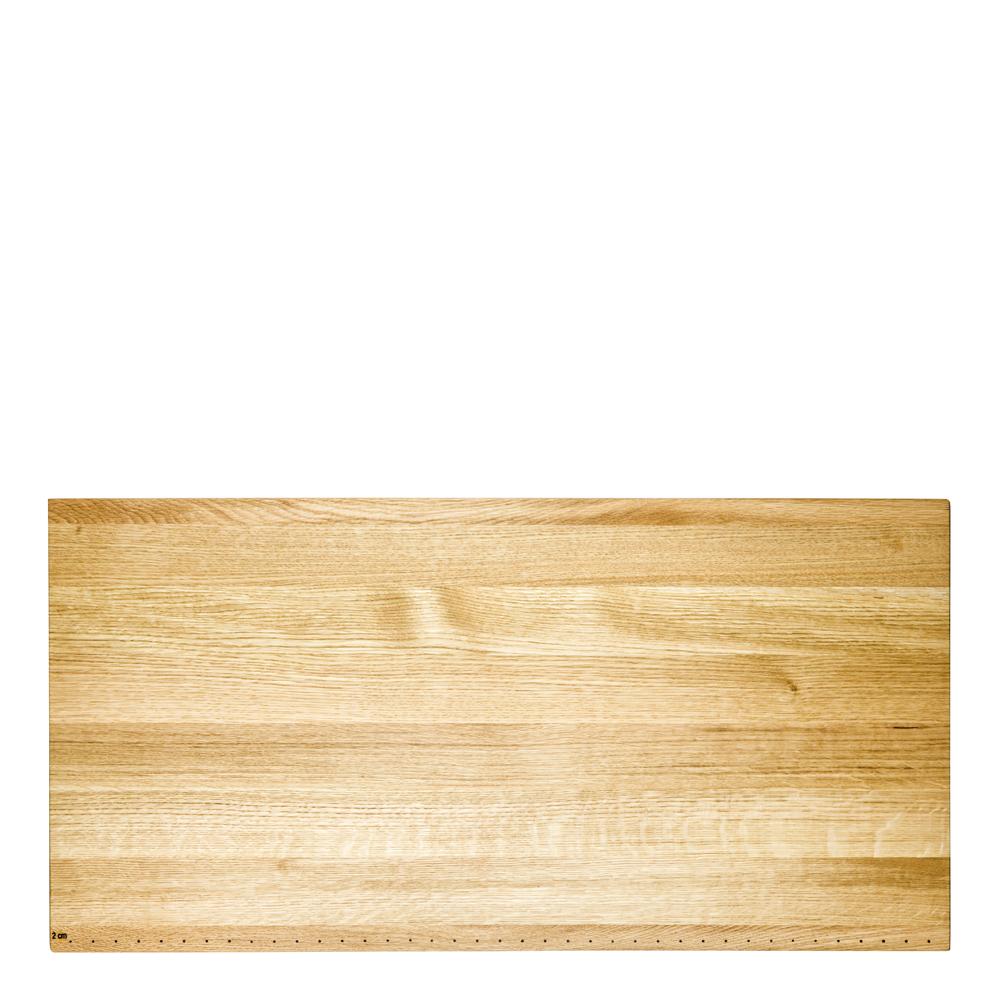 Skärbräda i ek 80×40 cm