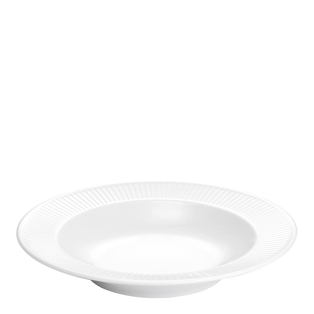 Plissé Pastatallrik 28 cm