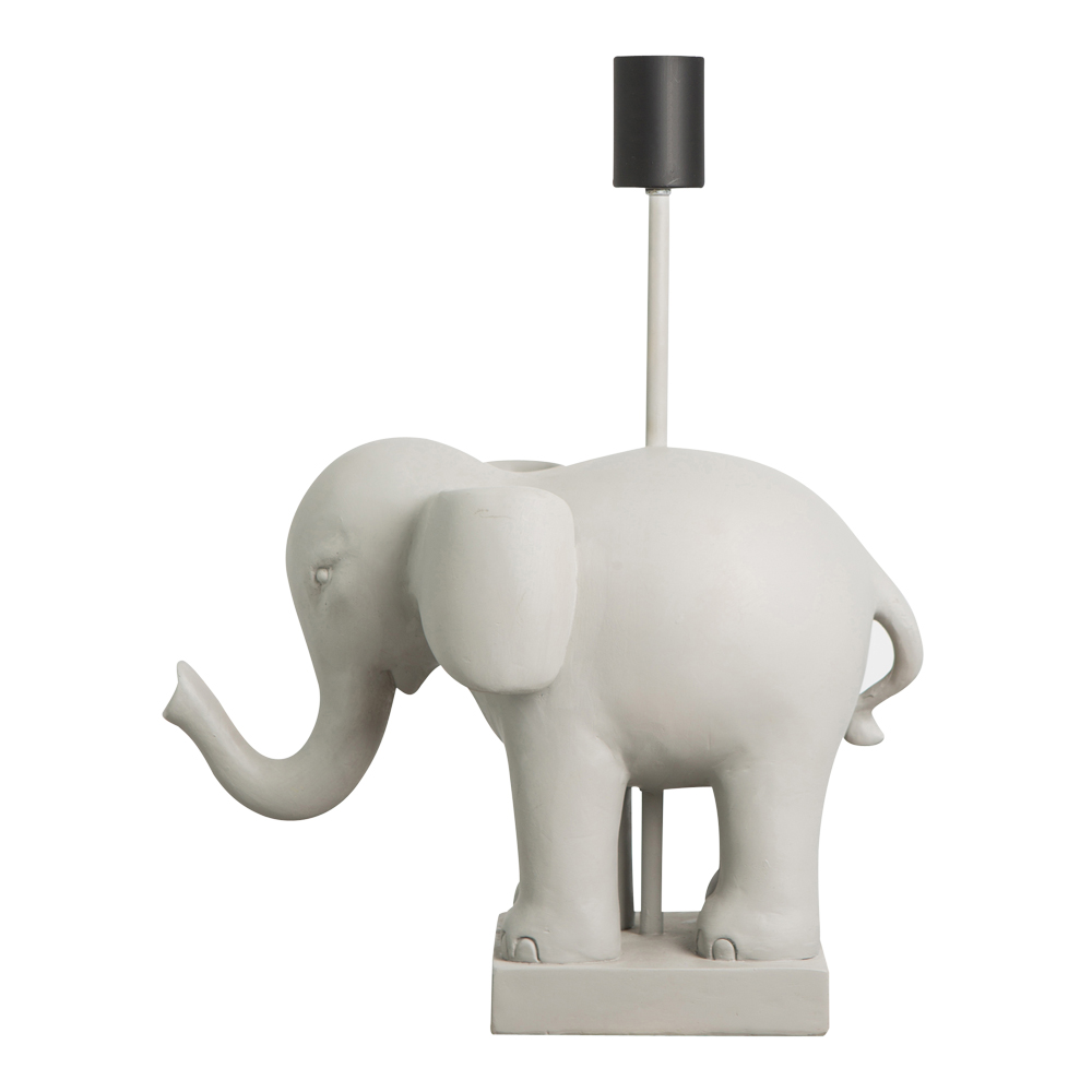 Elephant Bordslampa elefant 31x40 cm