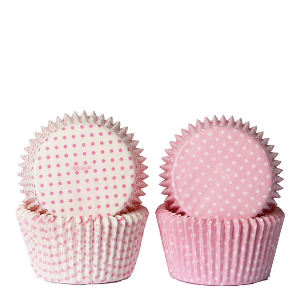 Form rosa miniprickar 50-pack