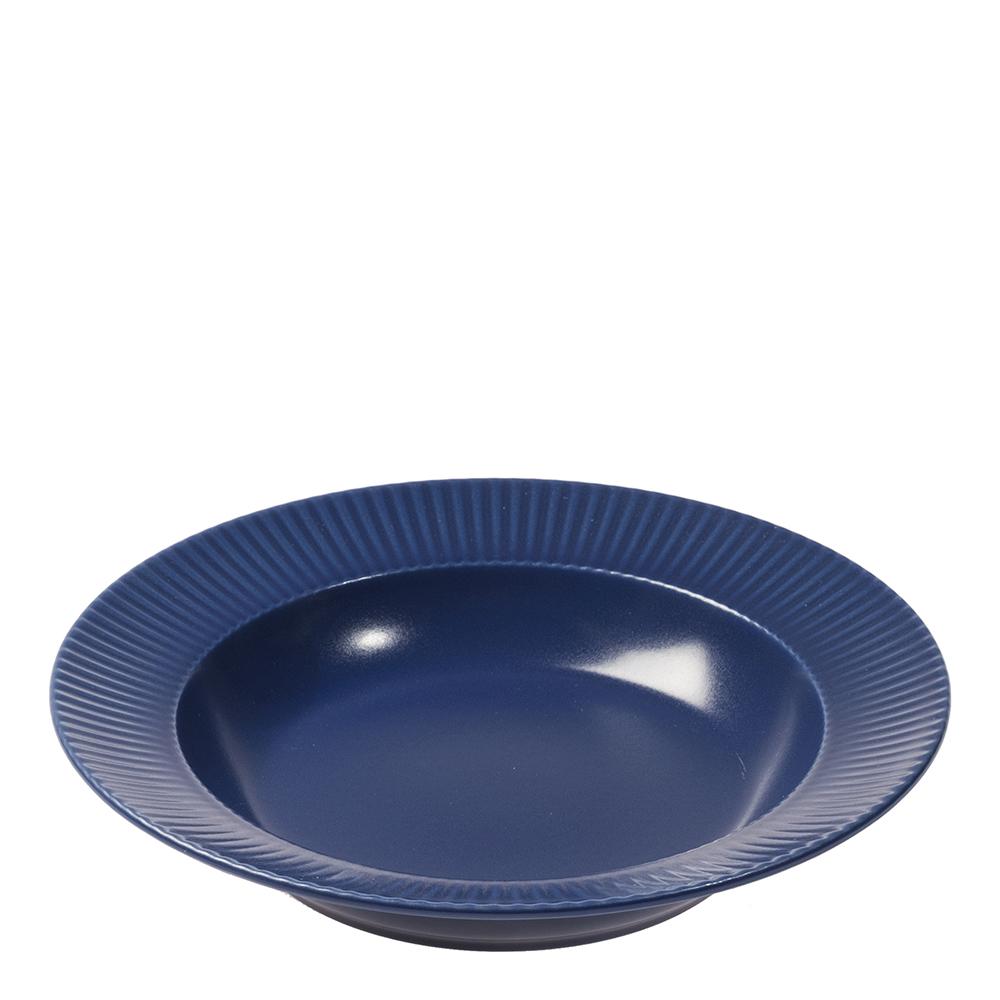 Groovy Sopptallrik 23 cm Blå
