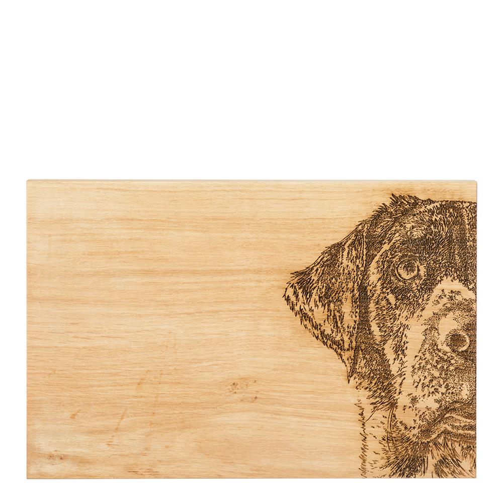 Skärbräda Ek Labrador 30×20 cm