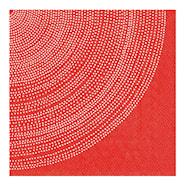Servett Lumimarja 33x33 cm Röd
