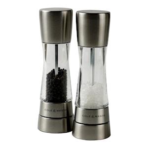 Derwent Salt/pepparkvarnsset Stål/acryl
