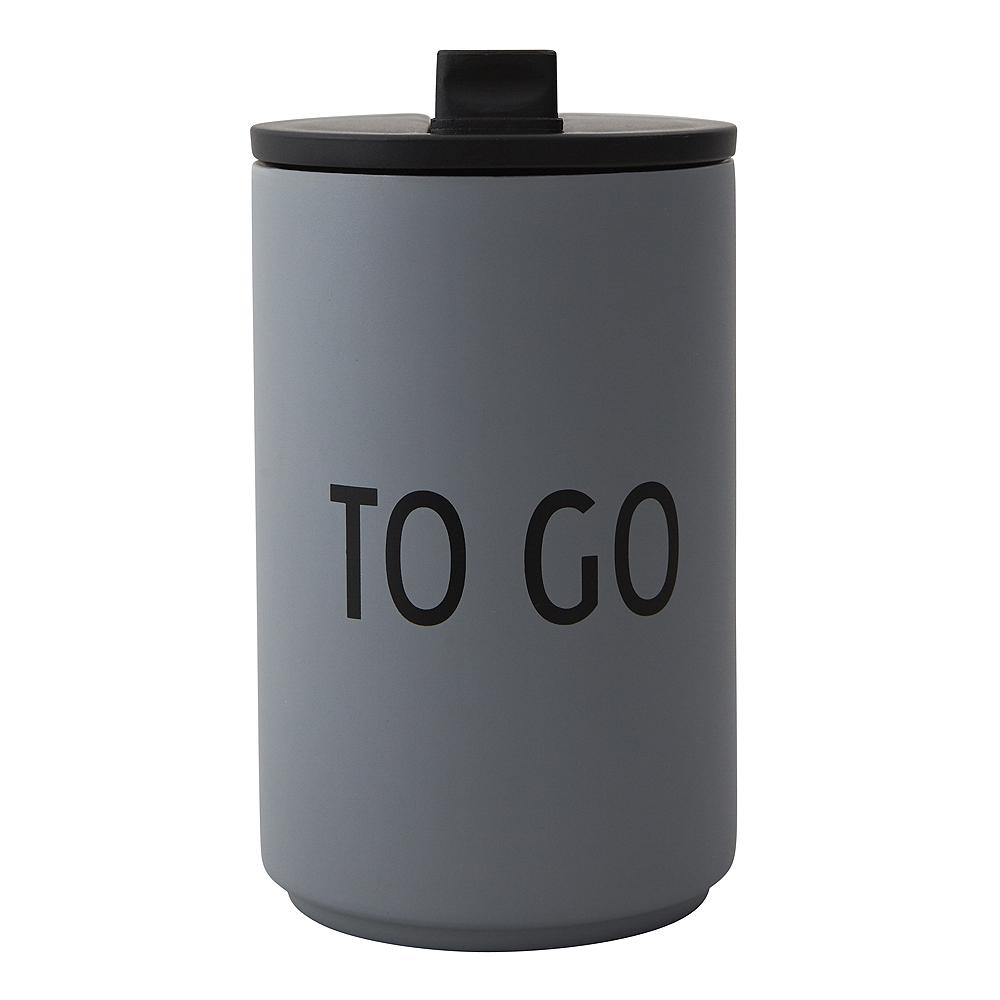 To Go Termosmugg To Go Grå