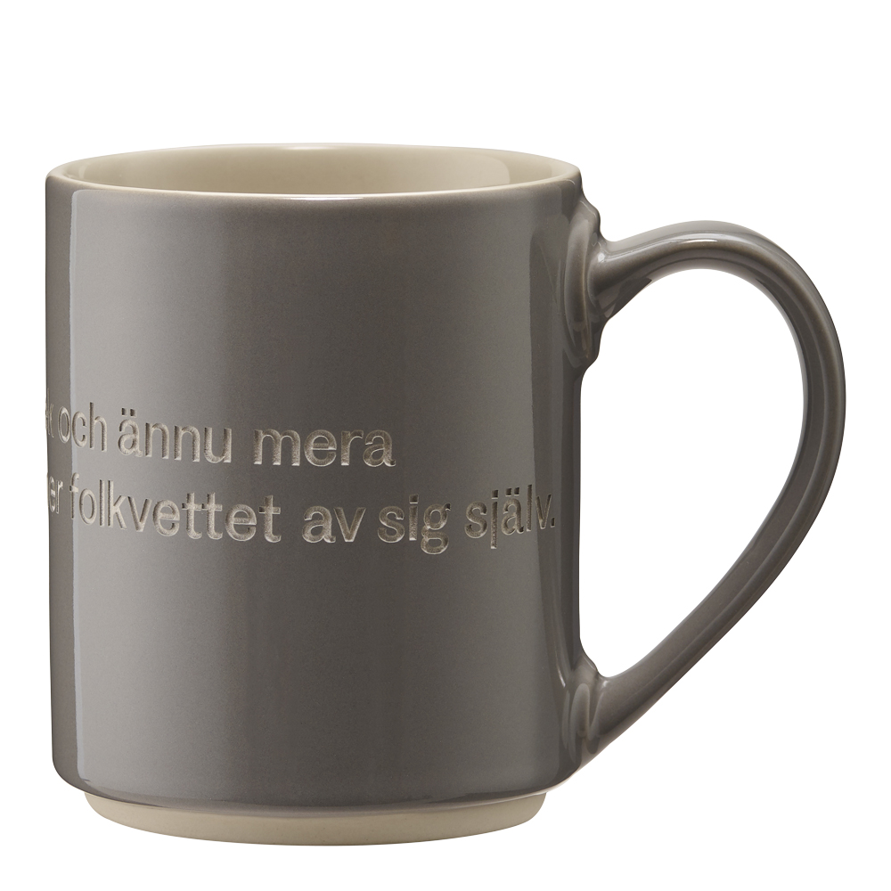 Astrid Lindgren Mugg Grå Ge barnen kärlek