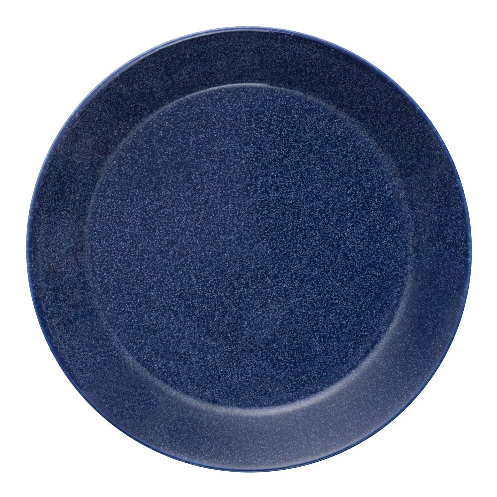 Teema Tallrik flat 17 cm Blå melerad