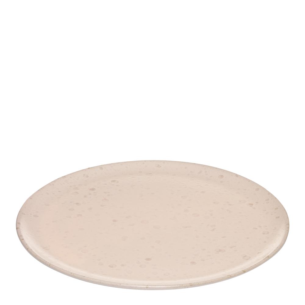 Raw Tallrik flat 24 cm Nude