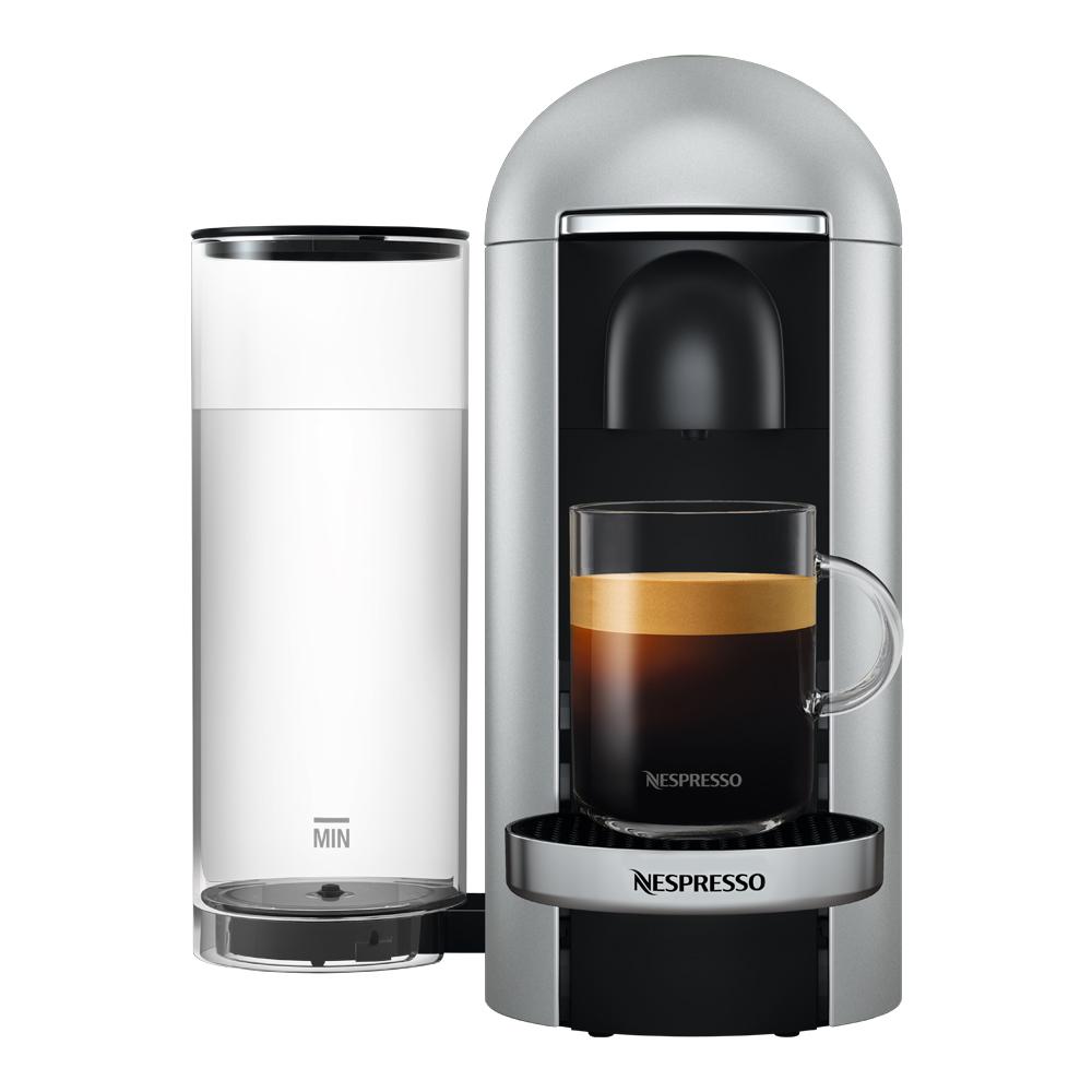 VertuoPlus Deluxe Round Top Kaffemaskin Silver
