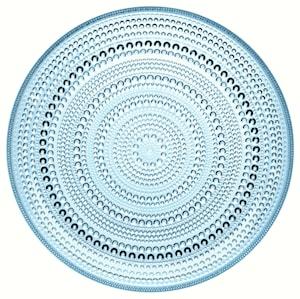Kastehelmi Tallrik 26 cm Ljusblå