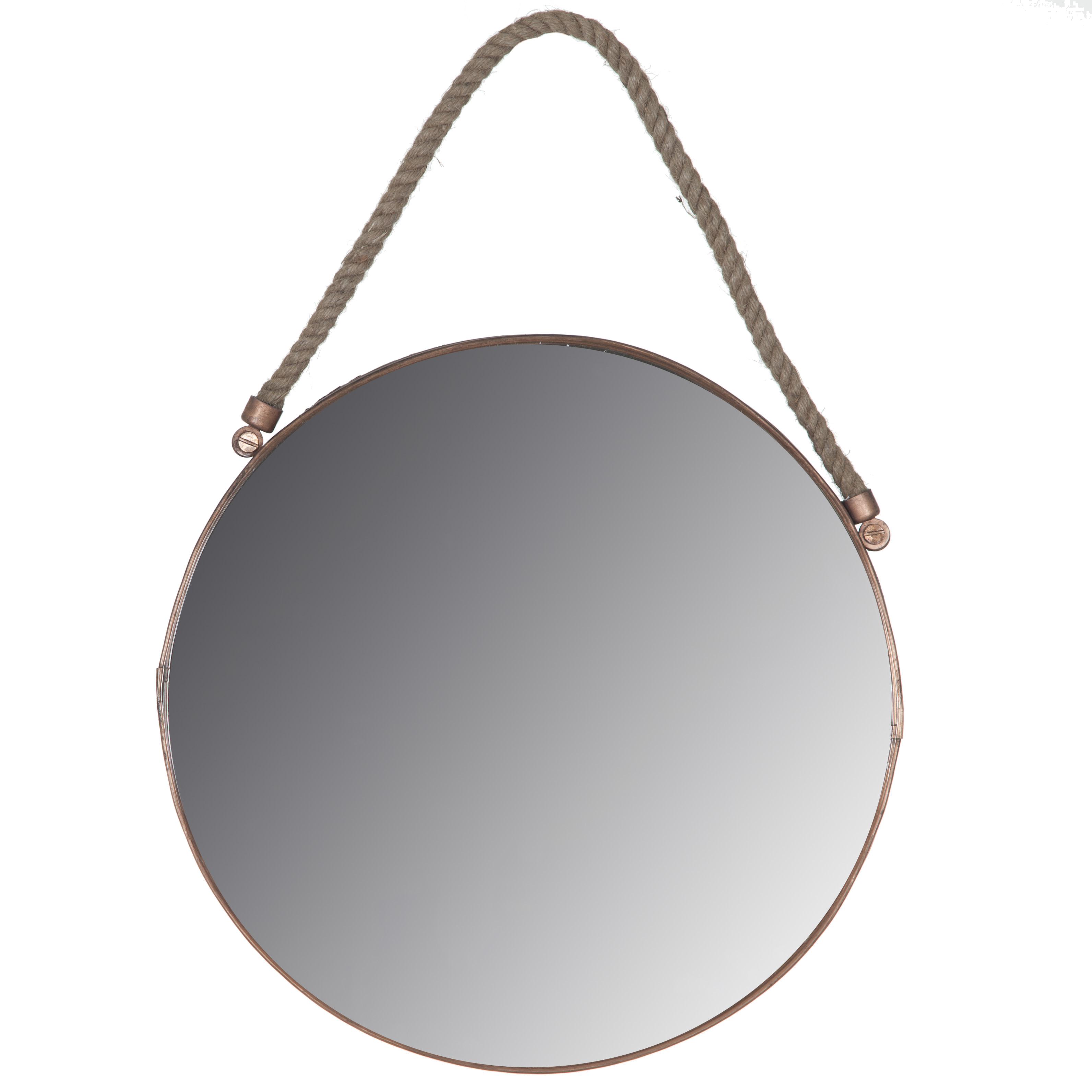 Modum Spegel 30 cm Koppar