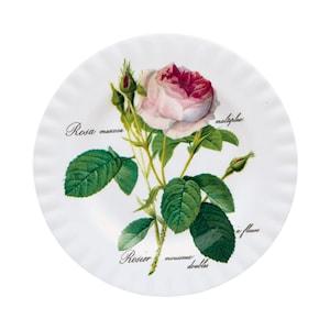 Redoute roses tallrik flat 20cm