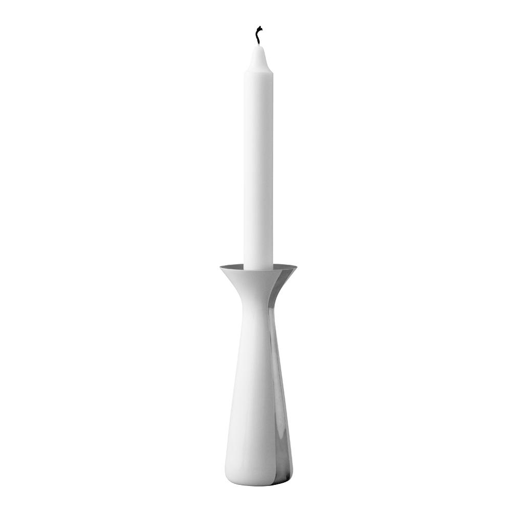 Danish Modern Ljusstake 17 cm Unified Vit