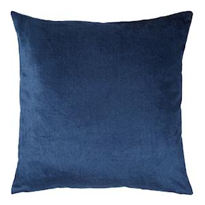 Velvet Kudde 50x50 cm Marinblå sammet
