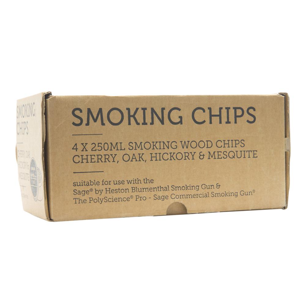 Wood Chips Rökspån 4-pack