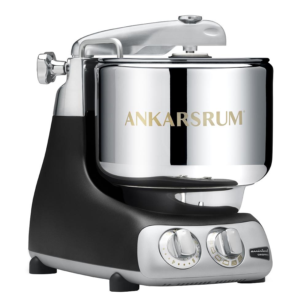 Ankarsrum Assistent Original Köksmaskin + Kokbok Svart