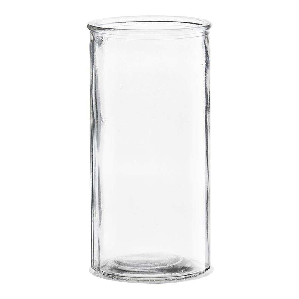 House Doctor Cylinder Vase rett 20x10 cm glass