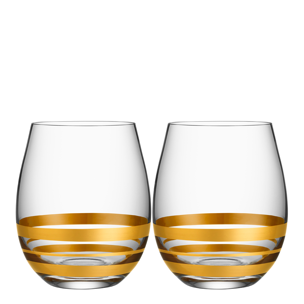 Morberg Exclusive Tumbler guld 38 cl 4-pack