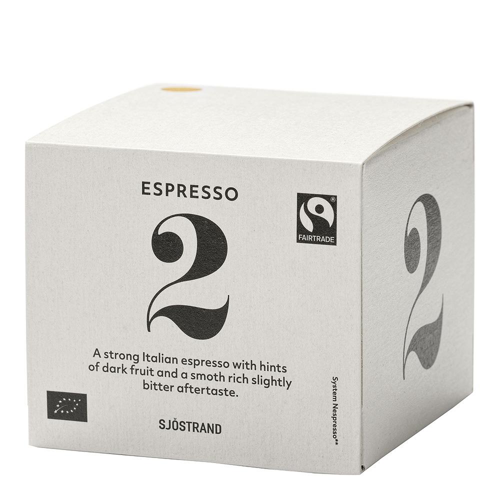 N°2 Espressokapslar 10-pack