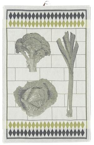 Handduk Grönsaker 48x70 cm
