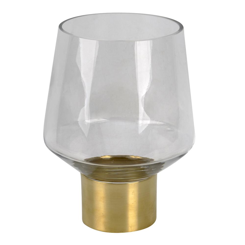 Cape Verde Vas 20,5 cm Glas/guld