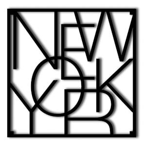 City Trivets Underlägg New York Svart