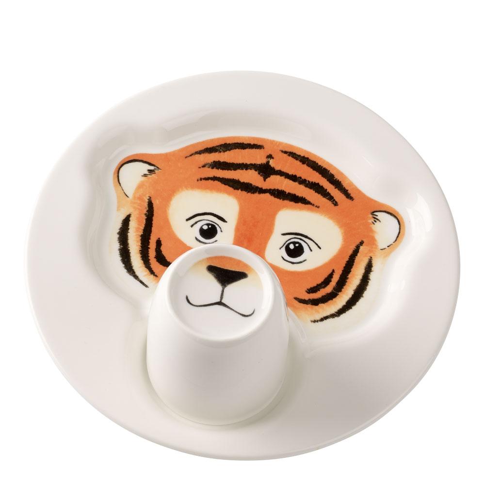 Animal Friends Barnservis 2 delar Tiger