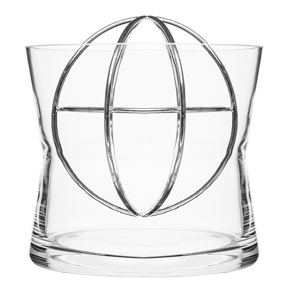 Sphere Vas Large Silver