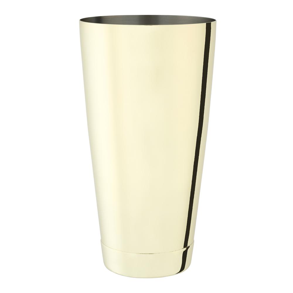 Professional Boston shaker 800 ml Guld