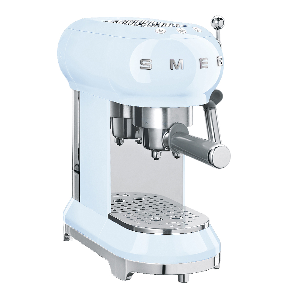 Retro Espressomaskin Pastellblå