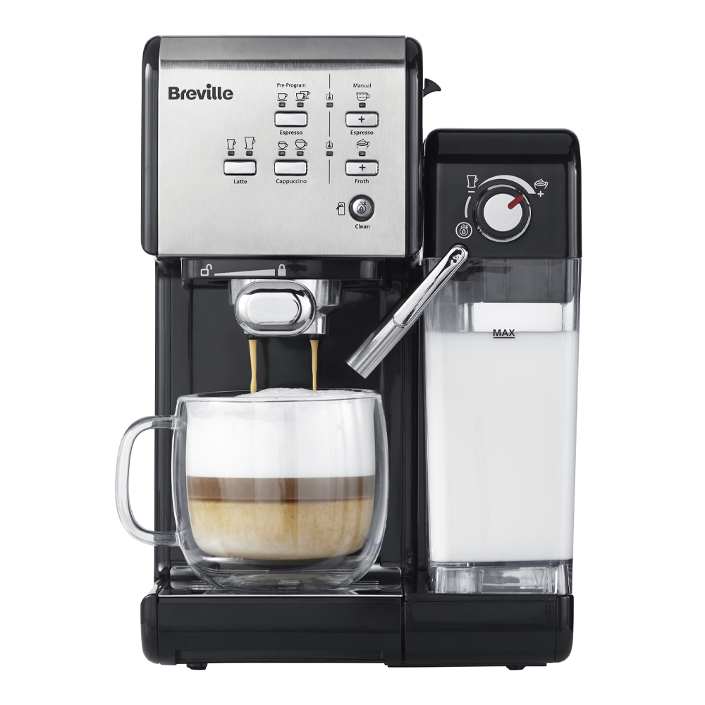 Prima Latte II Kaffemaskin Silver