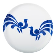 Fågel Blå Tallrik flat 27 cm