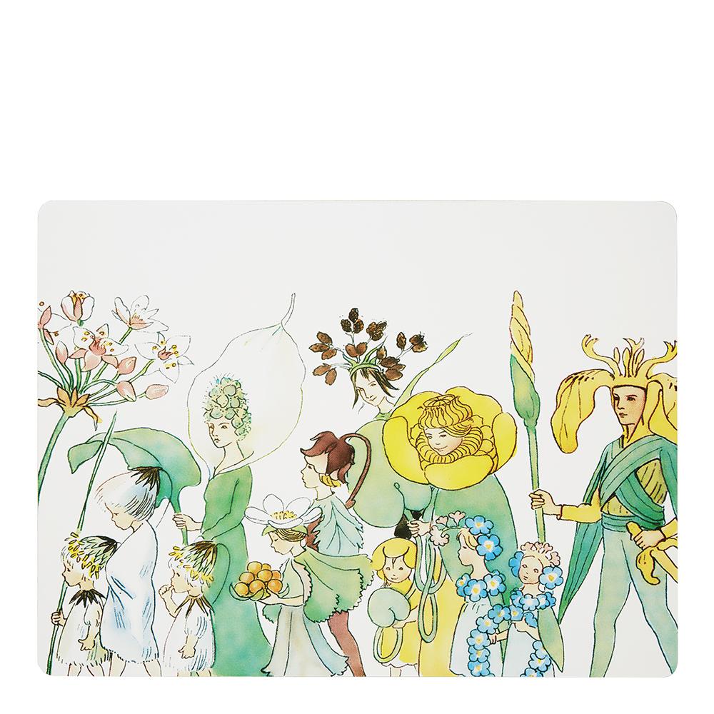 Bordstablett 4-pack Blomsterparaden