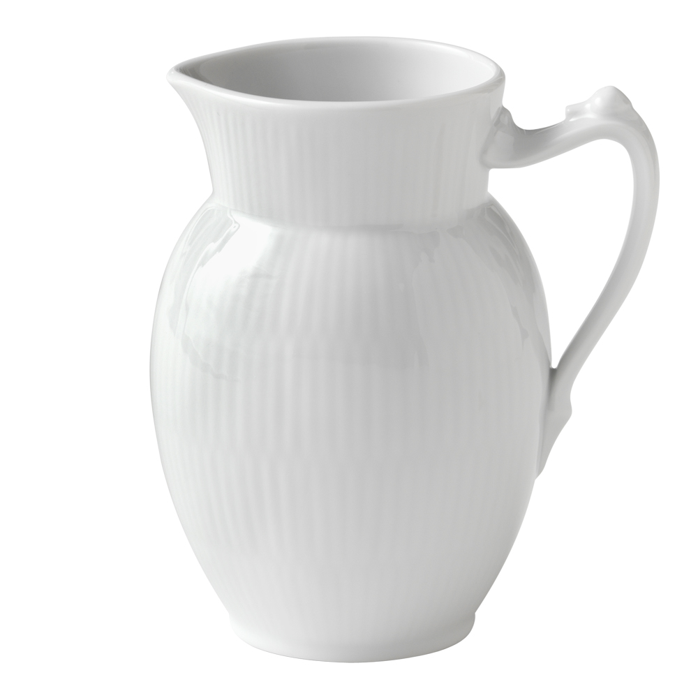 White Fluted Kanna 38 cl