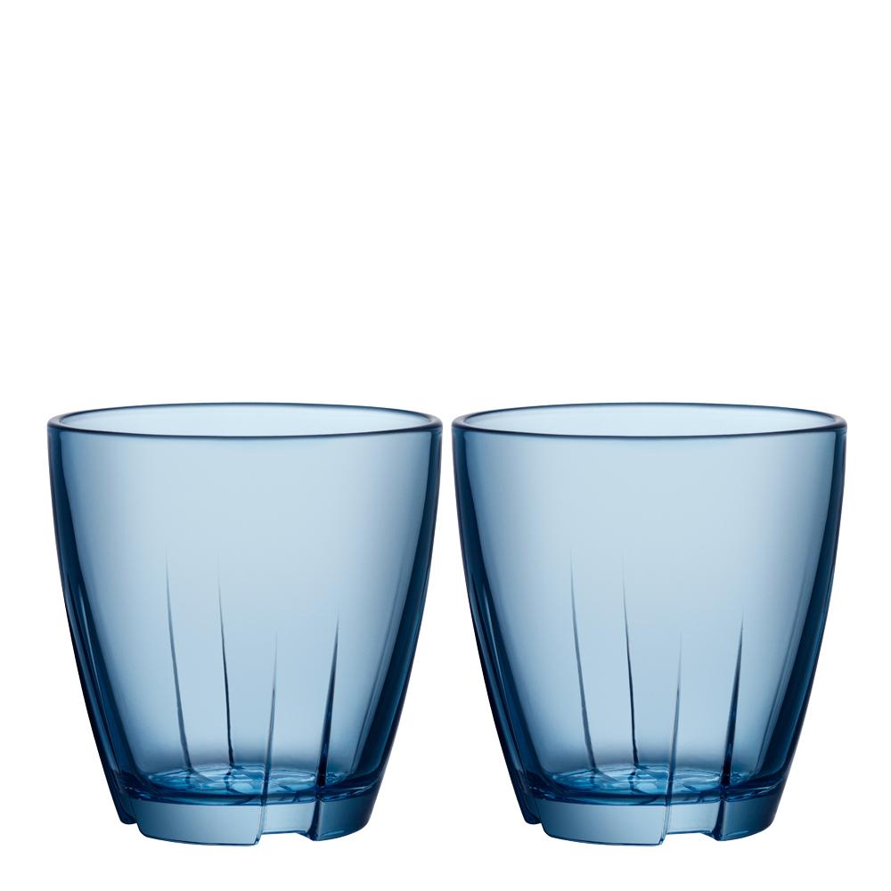 Bruk Dricksglas 20 cl 2-pack Water blue