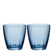 Bruk Dricksglas 20 cl 2-pack Water blue