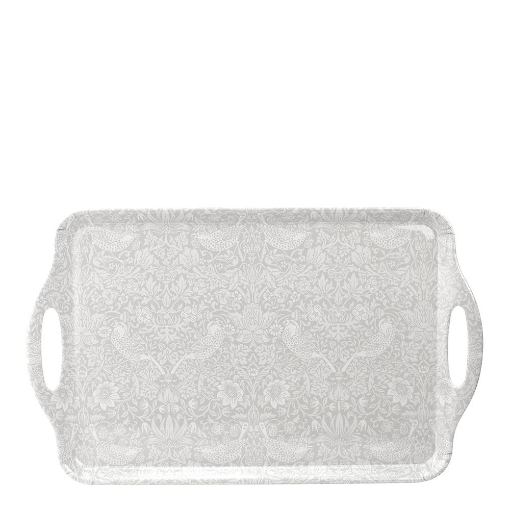 Strawberry Thief Bricka med handtag 48×295 cm Pure Vit