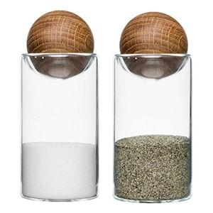 Oval oak Salt/Pepparströare
