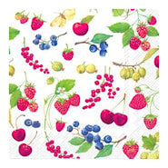 Servett 33x33 cm 20-pack Fruits of summer