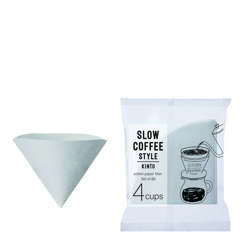 Slow Coffee Pappersfilter 4 koppar