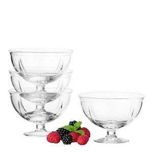 Grand Cru Soft Skål/fot 4-pack glas