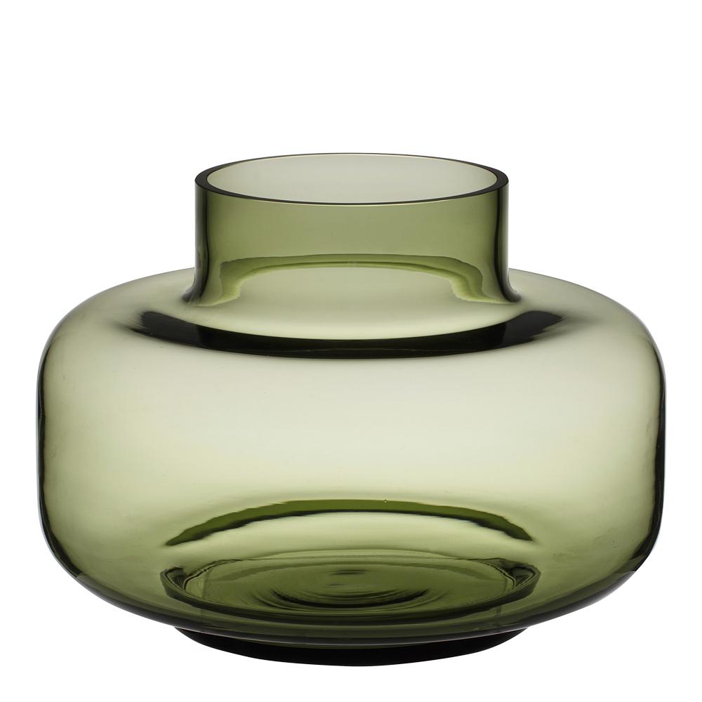 Urna Vas 21 cm Olivgrön