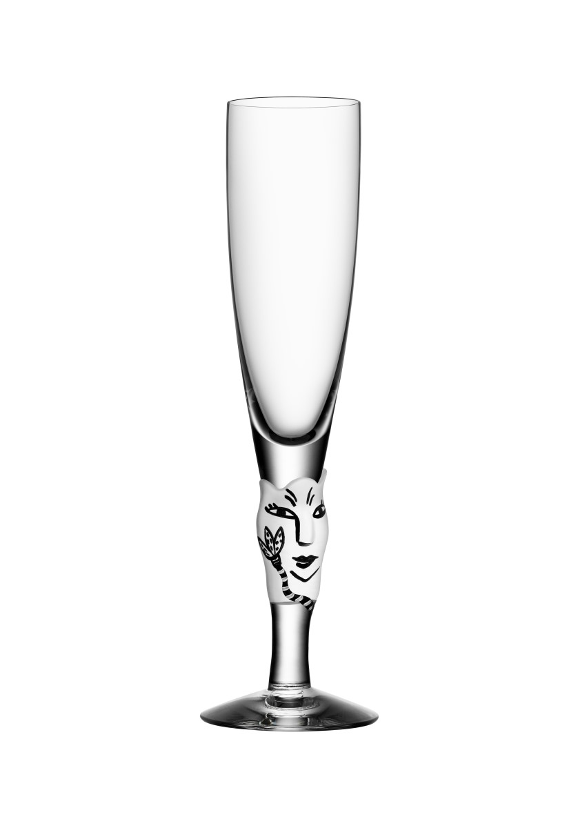 Open Minds Champagneglas 20 cl Vit