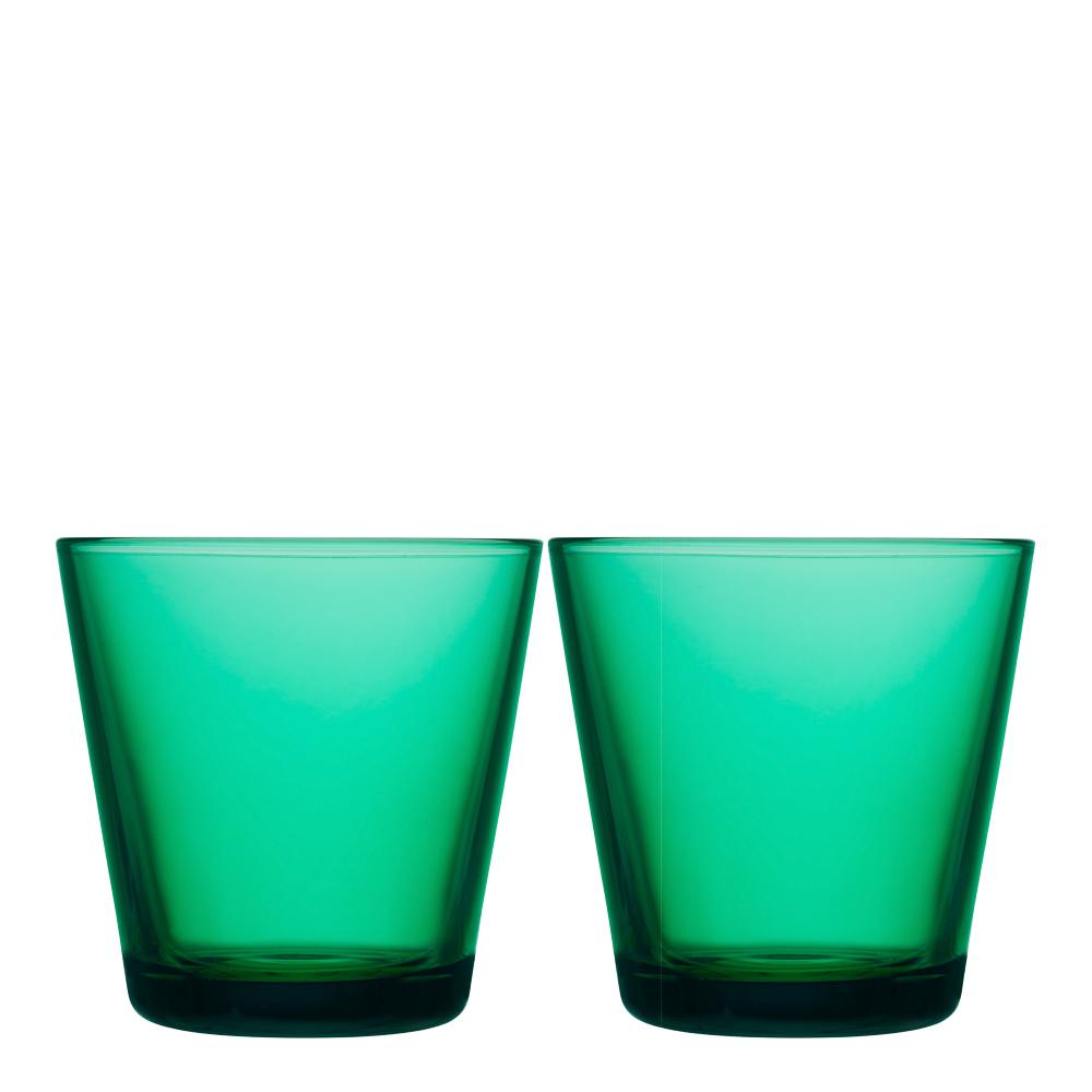 Kartio Glas 21 cl 2-pack Smaragd