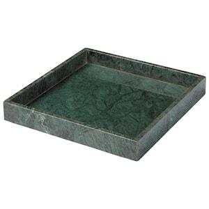 Napoli Fat i marmor 30x30cm Grön