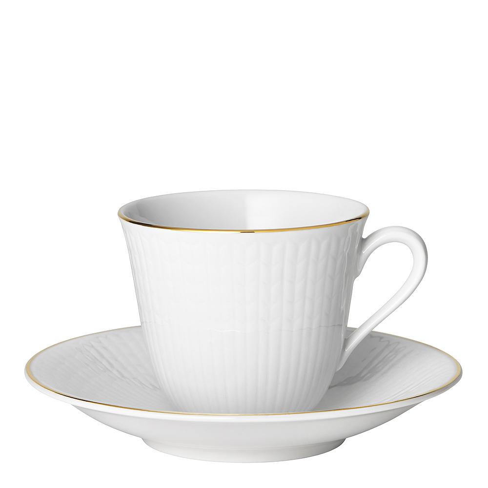 Swedish Grace Gala Kaffekopp 16 cl med fat