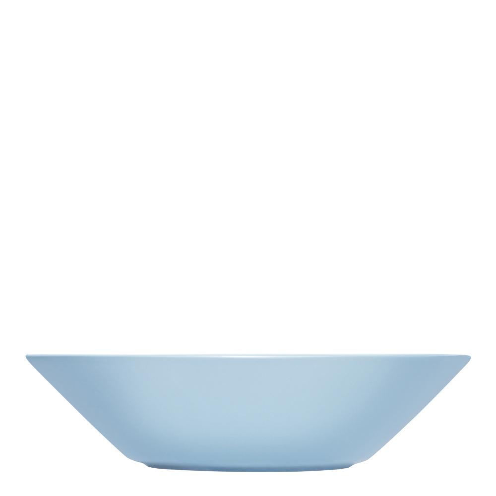 Teema Tallrik djup/skål 21 cm Ljusblå