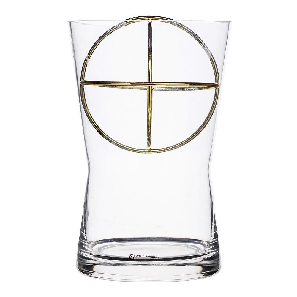 Sphere Vas Medium Guld