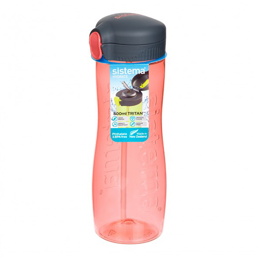Quick Flip Flaska 800 ml Peach