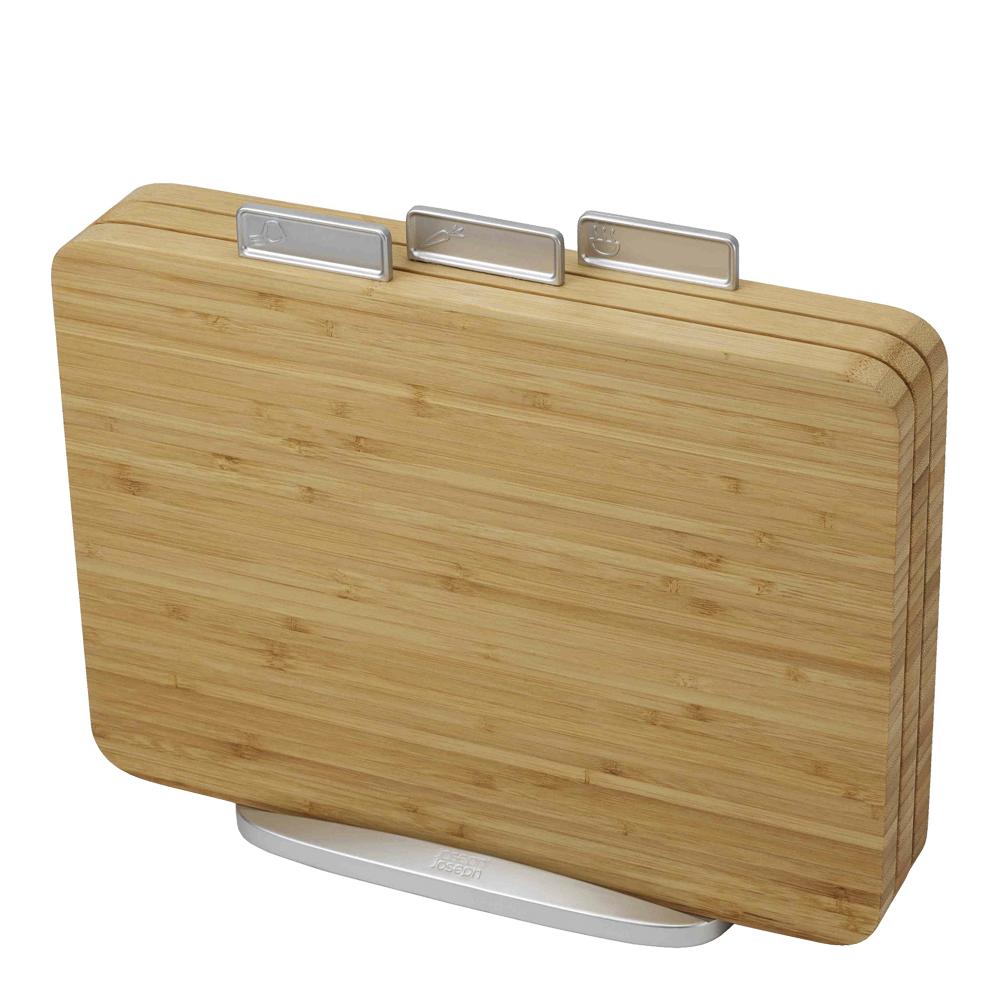 Index Skärbrädeset 3-pack Bambu